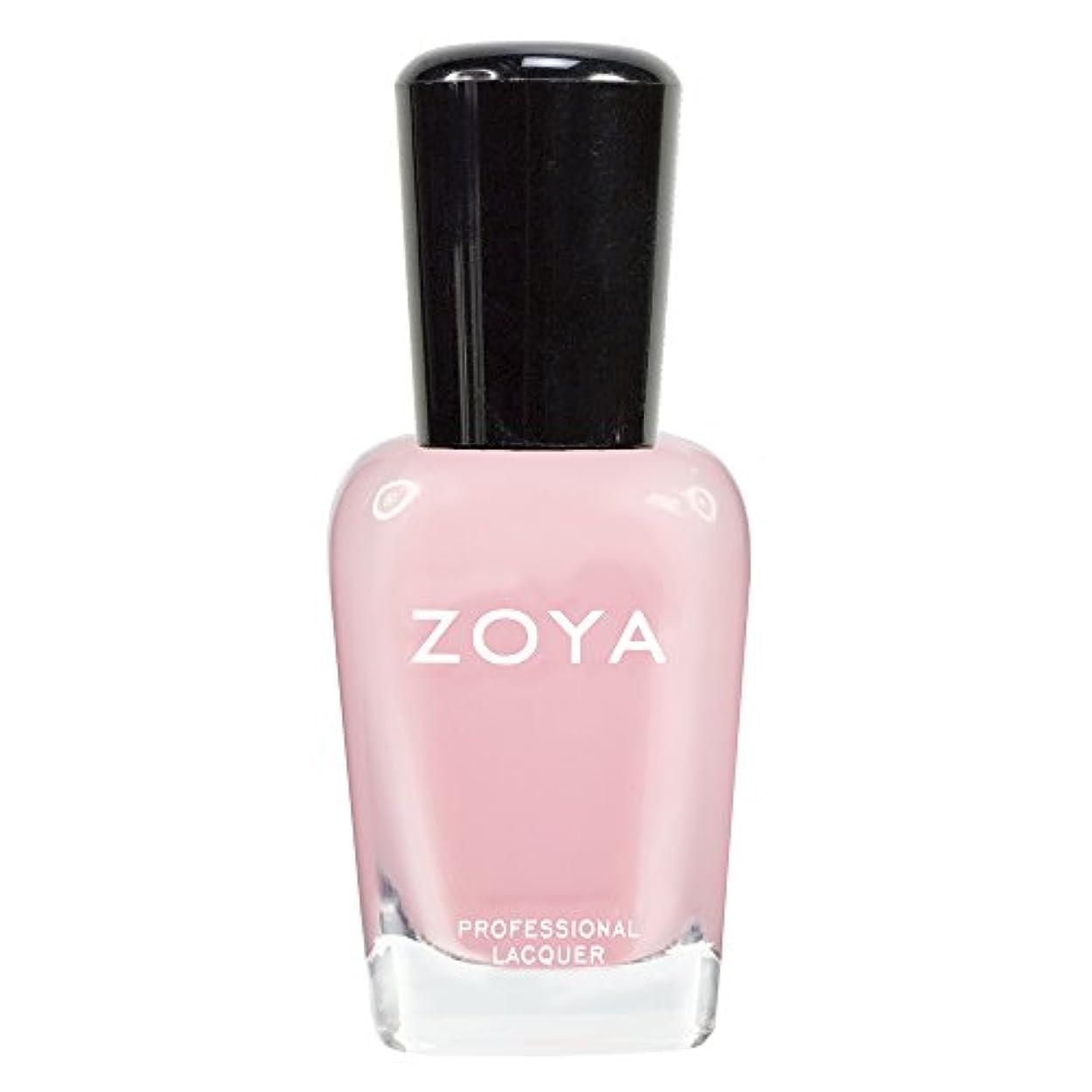 エンジニアリング便利さホラーZOYA ゾーヤ ネイルカラーZP433 LAURIE ローリー 15ml 可愛く色づく桜の花ようなピンク シアー/クリーム 爪にやさしいネイルラッカーマニキュア