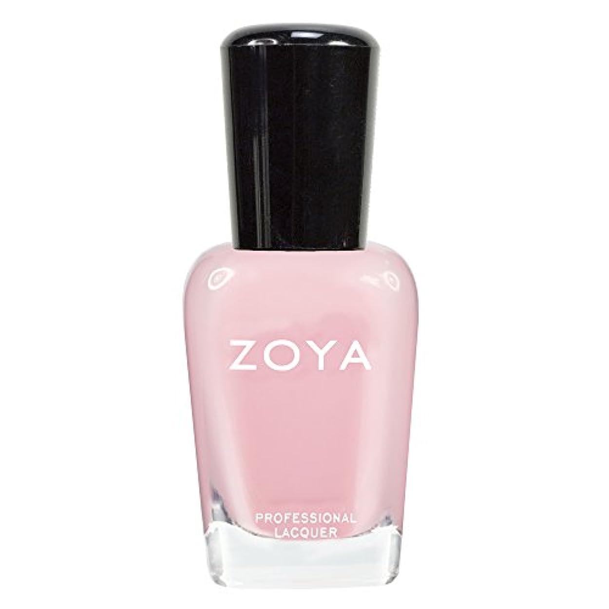 マディソンカロリー効果的にZOYA ゾーヤ ネイルカラーZP433 LAURIE ローリー 15ml 可愛く色づく桜の花ようなピンク シアー/クリーム 爪にやさしいネイルラッカーマニキュア