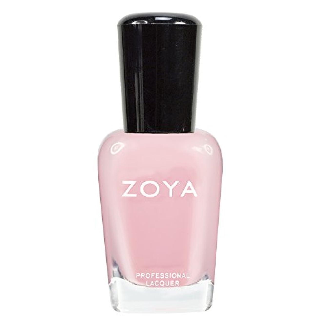 ブラストミント証拠ZOYA ゾーヤ ネイルカラーZP433 LAURIE ローリー 15ml 可愛く色づく桜の花ようなピンク シアー/クリーム 爪にやさしいネイルラッカーマニキュア