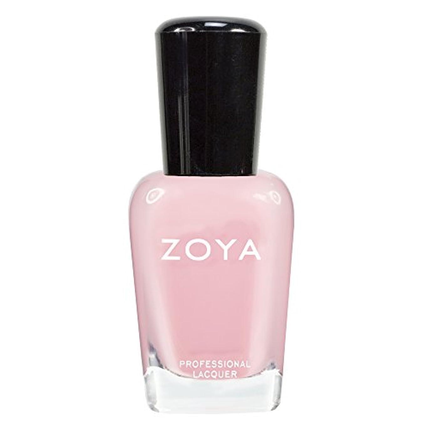 永久にシャイニングファンZOYA ゾーヤ ネイルカラーZP433 LAURIE ローリー 15ml 可愛く色づく桜の花ようなピンク シアー/クリーム 爪にやさしいネイルラッカーマニキュア