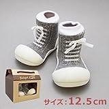 ベビーフィート ベビーシューズ スニーカー baby feet (12.5cm, スニーカー グレー(02))