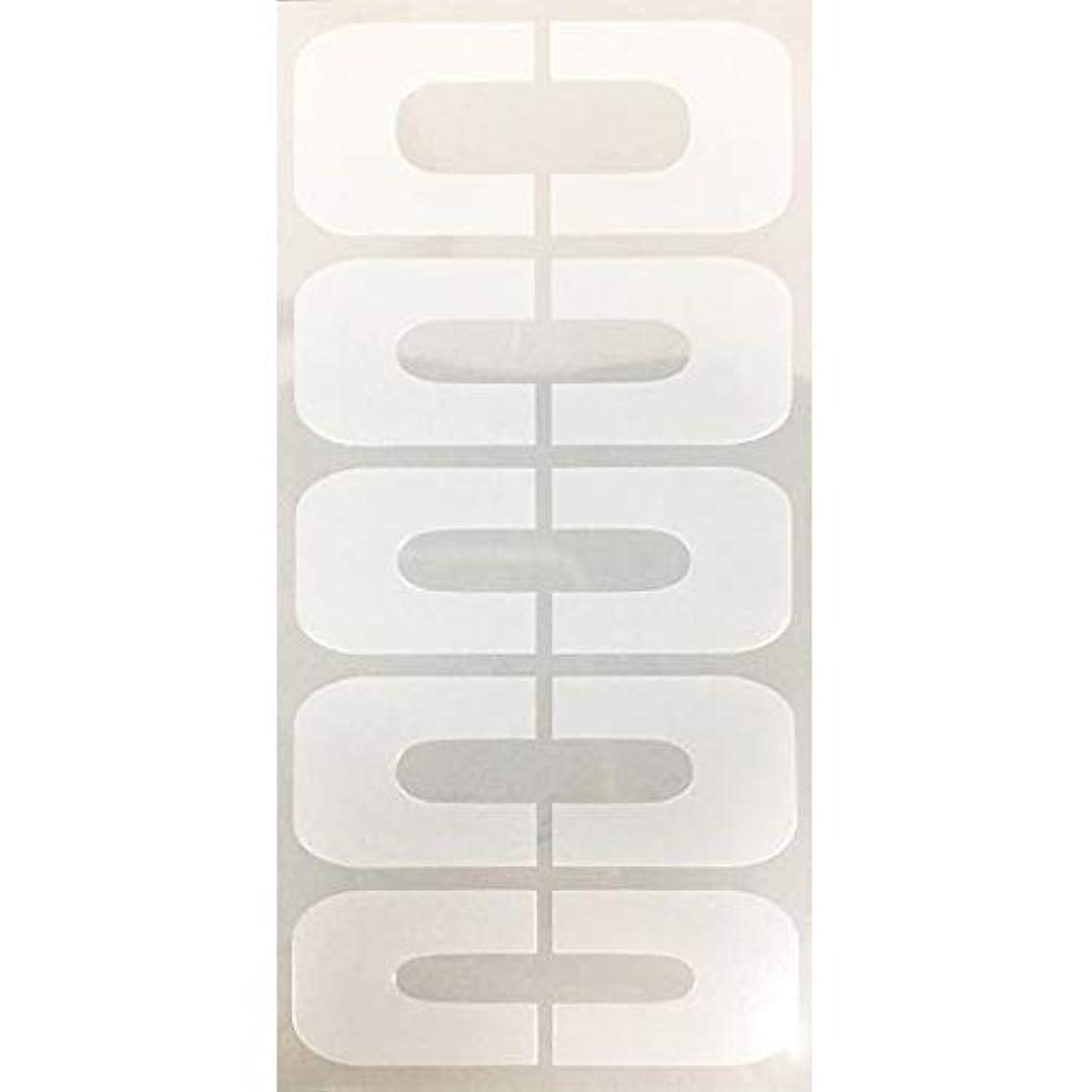 頬骨生命体複製するAIRTEX エアジェル マスキングシール クリア 10枚 AGL-FM5