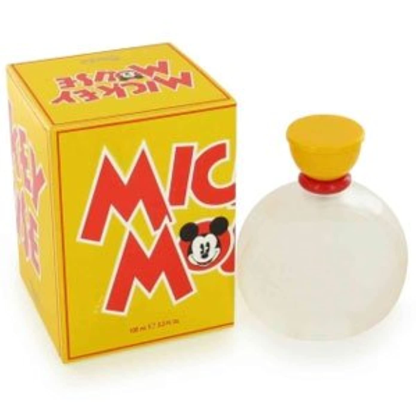 コーラス揮発性部族Mickey Mouse (ミッキーマウス) 3.4 oz (100ml) EDT Spray by Disney for Men