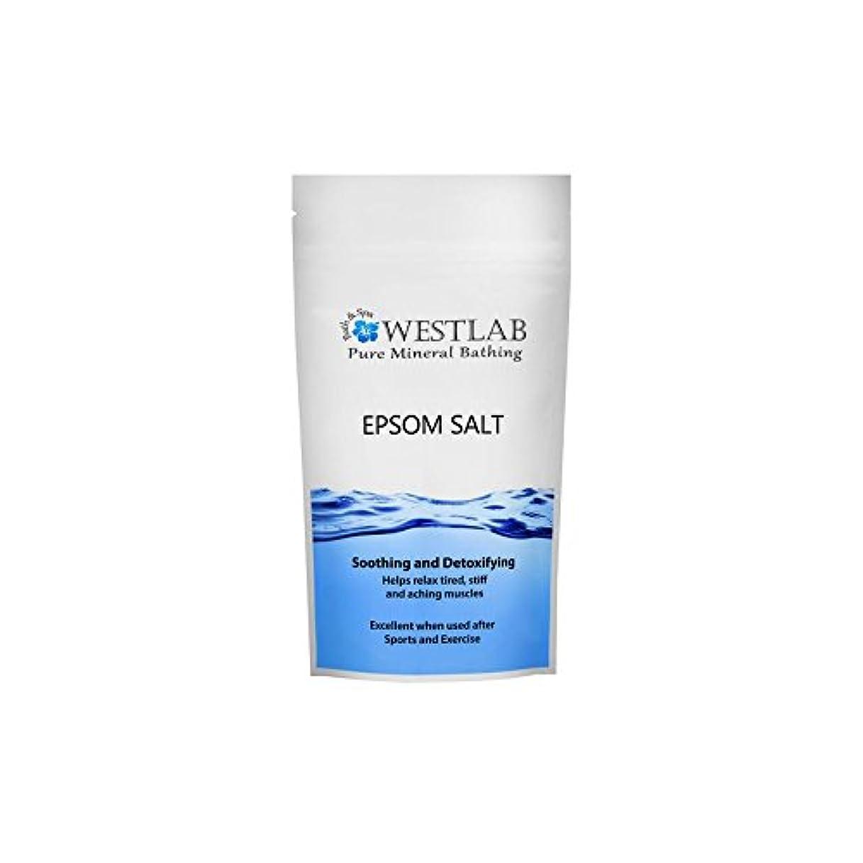 ボウルコットンソケットエプソム塩の1キロ x4 - Westlab Epsom Salt 1kg (Pack of 4) [並行輸入品]