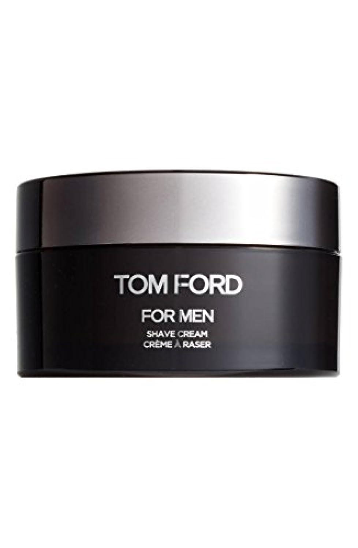 徒歩で軽食汚れたTom Ford Shave Cream (トムフォード シェーブ クリーム) 5.6 oz (165ml) シェーブ クリーム for Men