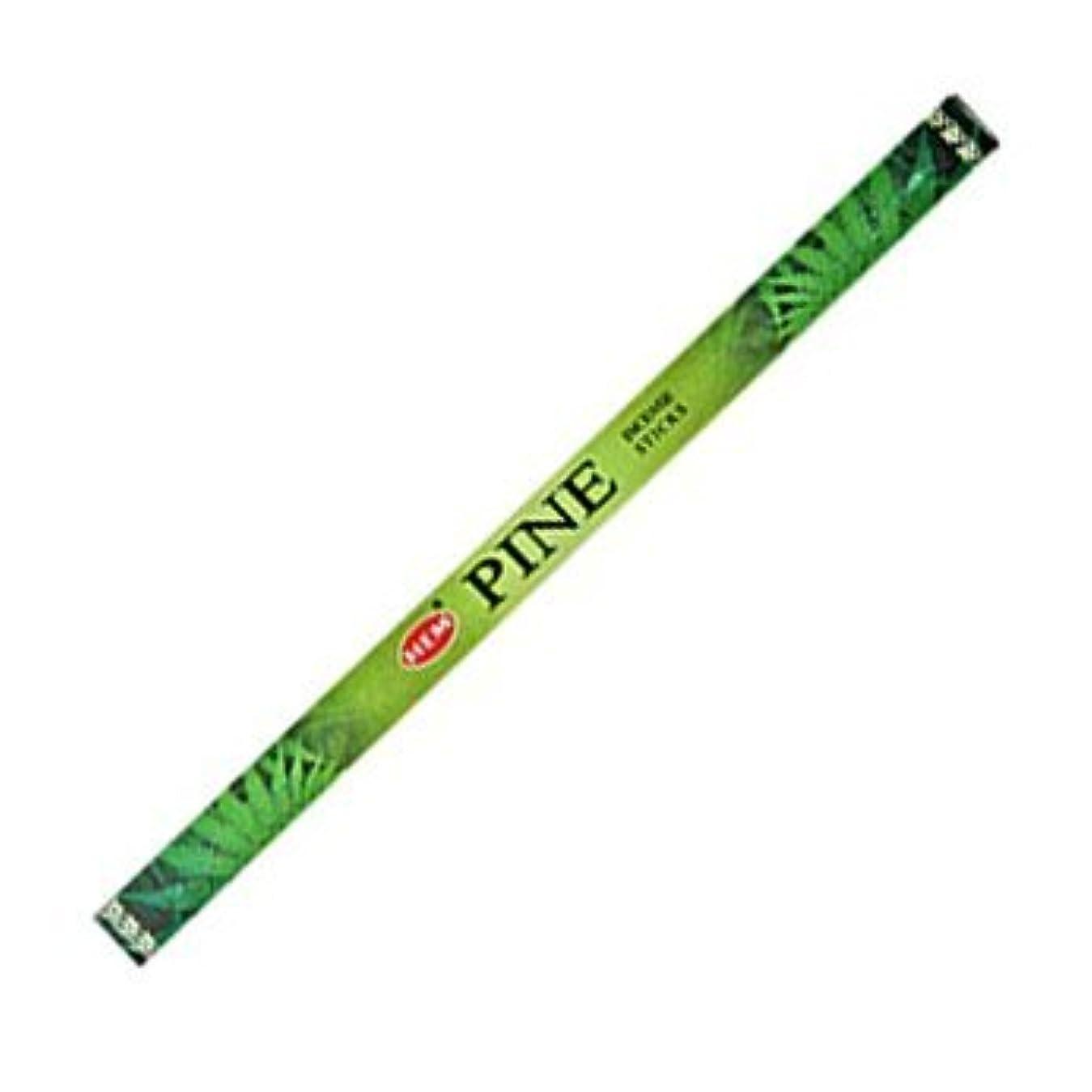 イタリアの記念日失われたHemパイン香20 Sticks Hex Pack