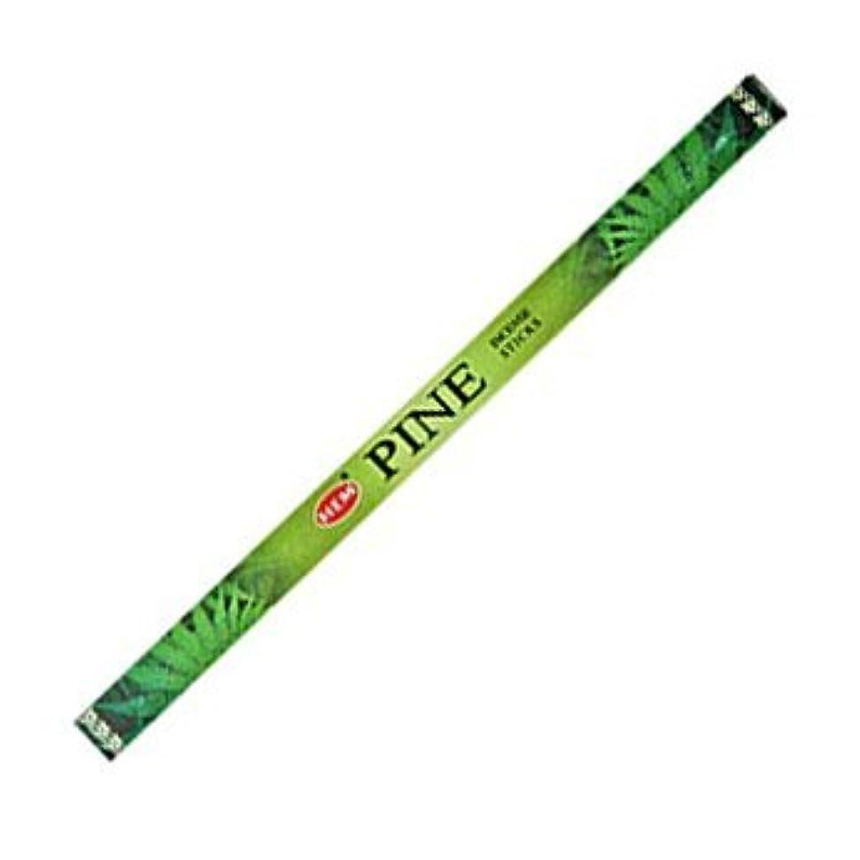 送料百万嫌がらせHemパイン香20 Sticks Hex Pack