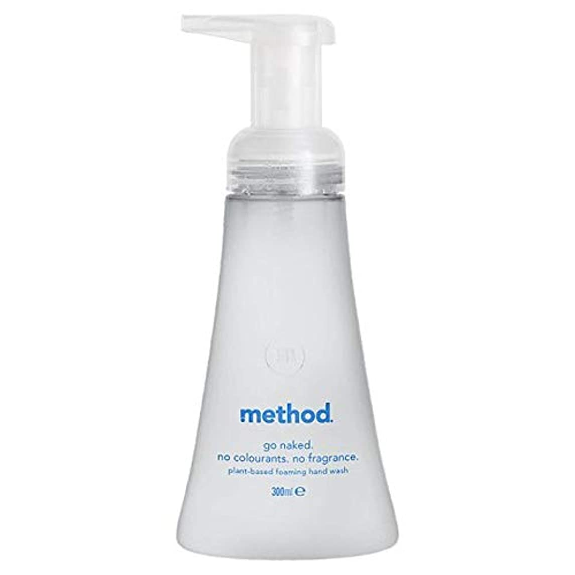 閉塞コウモリ品[Method ] メソッド裸発泡手洗いの300ミリリットル - Method Naked Foaming Handwash 300Ml [並行輸入品]
