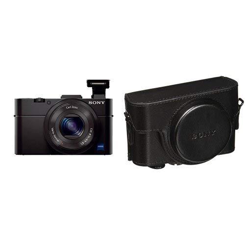 ソニー SONY デジタルカメラ DSC-RX100M2 1.0型センサー F1.8レンズ搭載 ブラック Cyber-shot DSC-RX100M2 + カメラケース ブラック