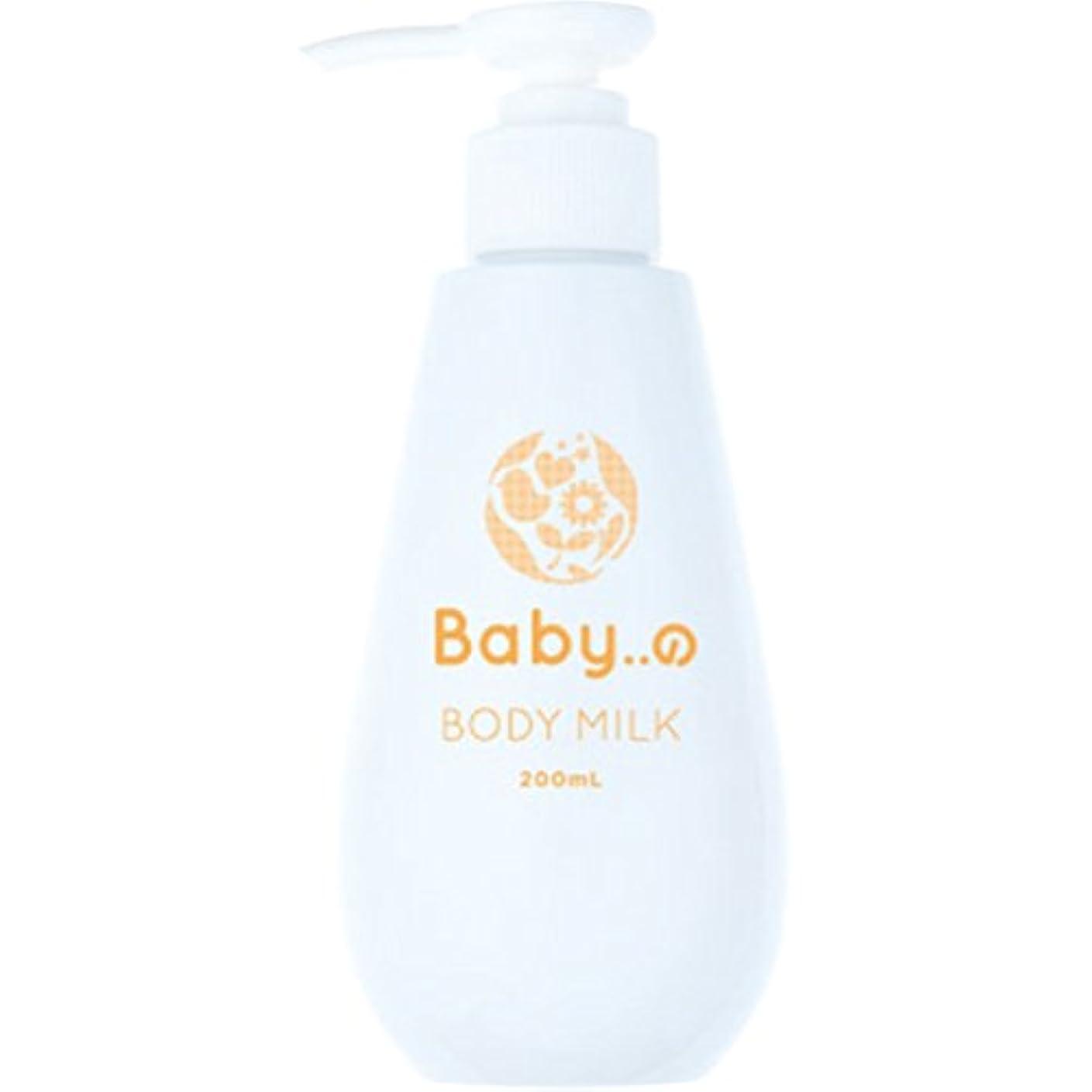 マガジンピッチ韓国語Babyの ボディーミルク 200ml