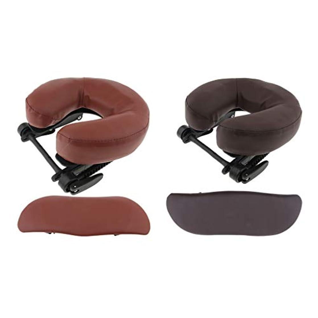 Hellery アームサポート マッサージ 枕クッション 2個セット 耐久性