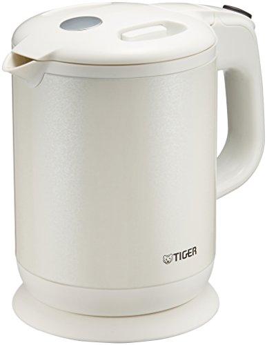 タイガー 魔法瓶 電気 ケトル 800ml パールホワイト 蒸気レス わく子 PCH-G080-WP Tiger