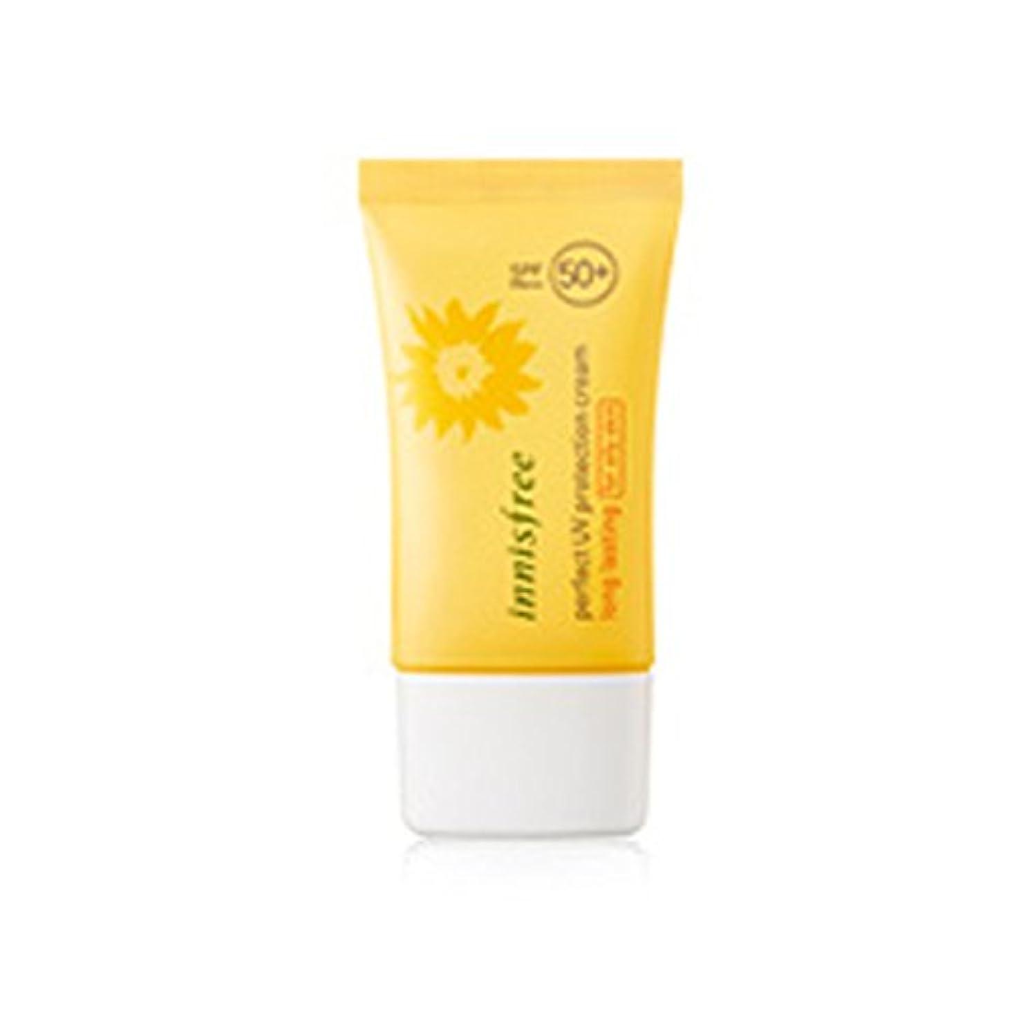 犯人後者用量イニスフリーパーフェクトUVプロテクションクリームロングサロン/オイリースキン用50ml SPF50 + PA +++ Innisfree Perfect UV Protection Cream_Long lasting/For Oily skin_ 50ml SPF50+ PA+++ [海外直送品][並行輸入品]