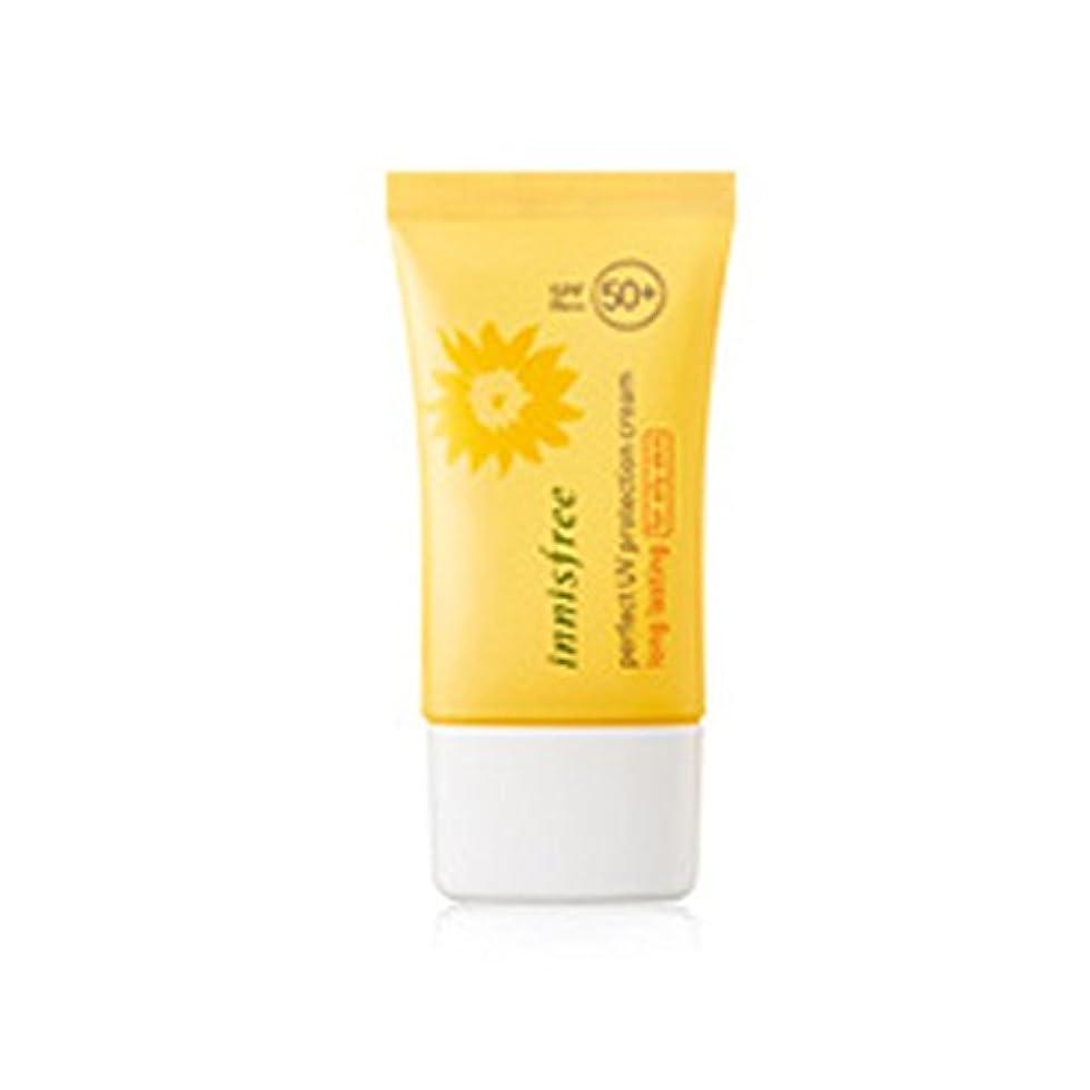 シャー曇った転用イニスフリーパーフェクトUVプロテクションクリームロングサロン/オイリースキン用50ml SPF50 + PA +++ Innisfree Perfect UV Protection Cream_Long lasting...