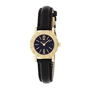 [ブルガリ]BVLGARI 腕時計 ブラック文字盤 BB23BGLD レディース 【並行輸入品】