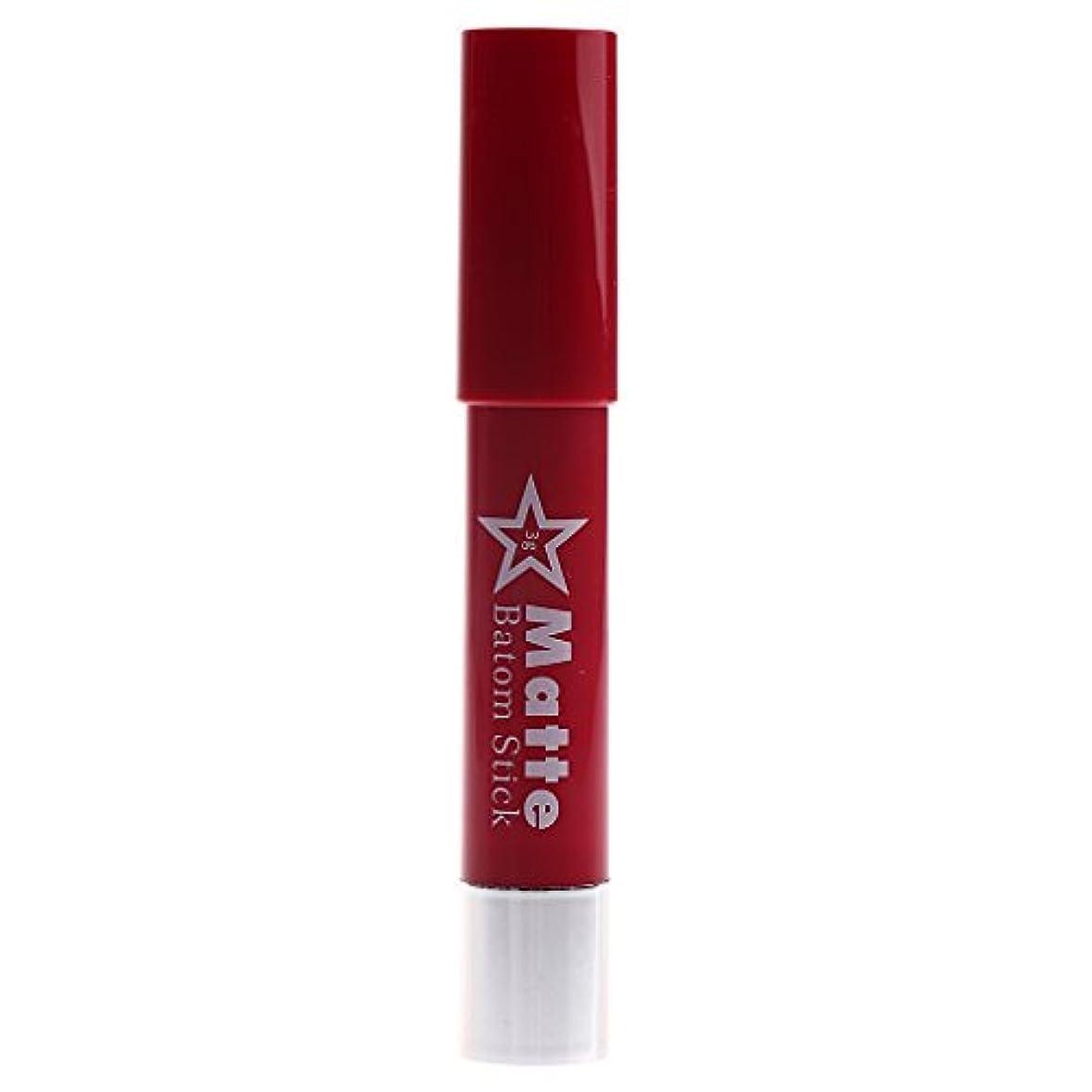 取る上下するまたねToygogo 着色が容易な長続きがする防水の唇の鉛筆女性マットのビロードの口紅