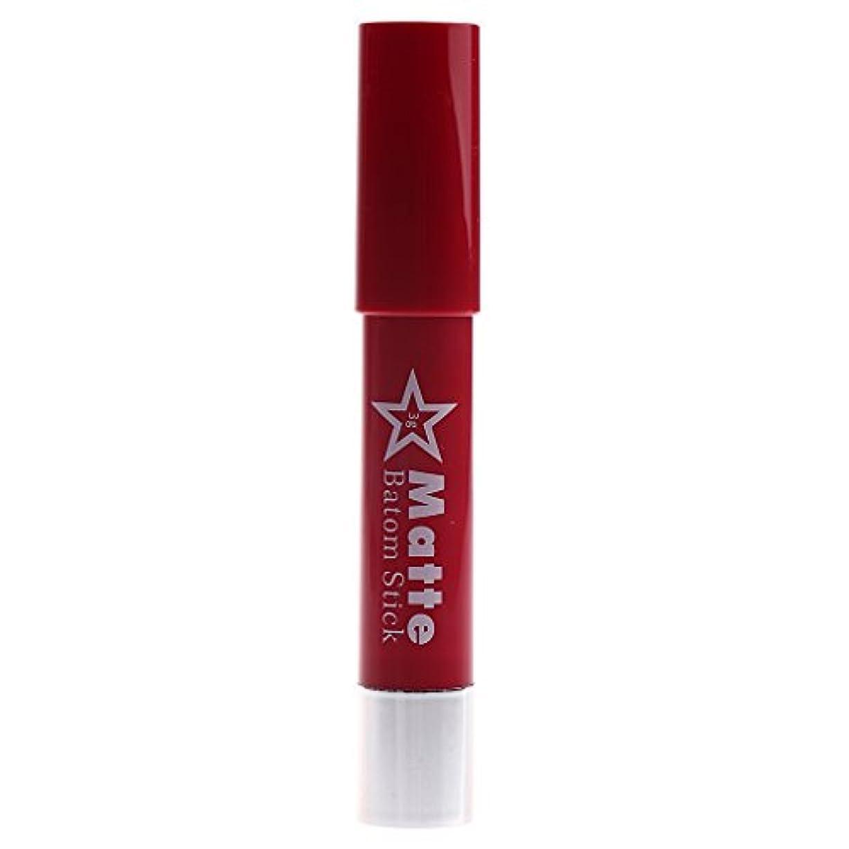 生きるすり減るどれかToygogo 着色が容易な長続きがする防水の唇の鉛筆女性マットのビロードの口紅