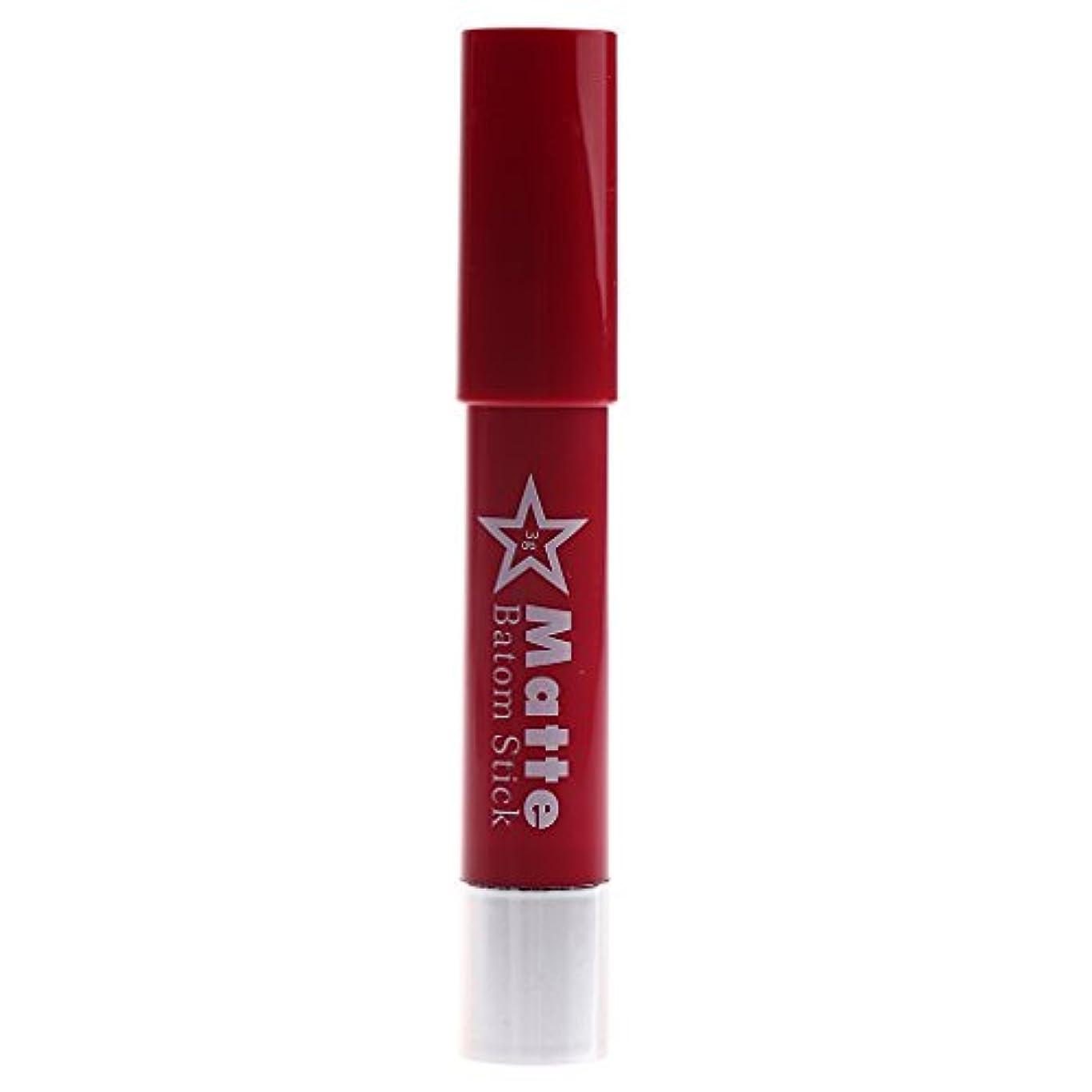 タイプライター対象敬長時間の防水リップペンシルマットベルベット口紅リップグロス化粧品