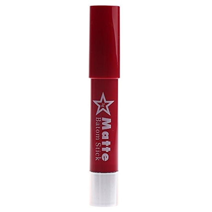 ペナルティ下るシュリンク長時間の防水リップペンシルマットベルベット口紅リップグロス化粧品
