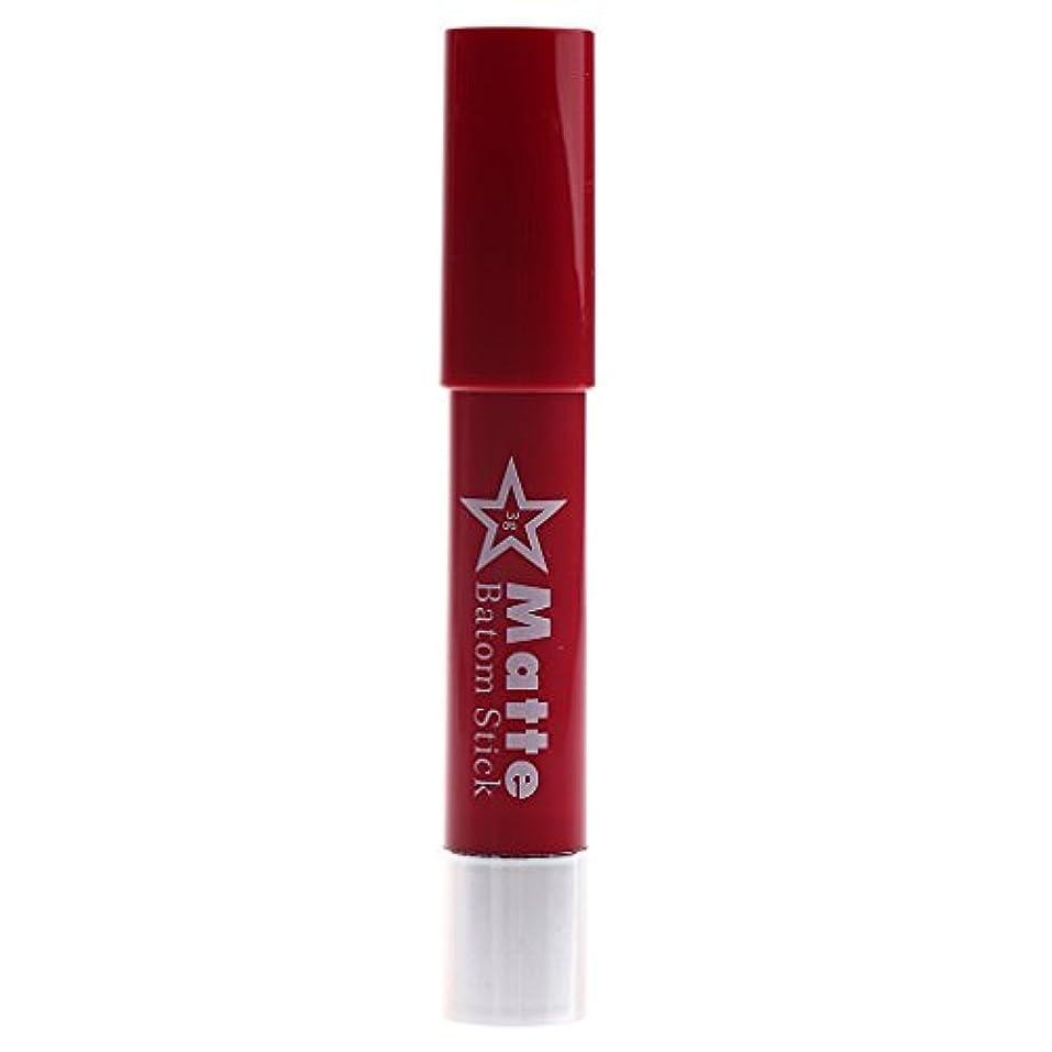 ポールベテランヒープ長時間の防水リップペンシルマットベルベット口紅リップグロス化粧品