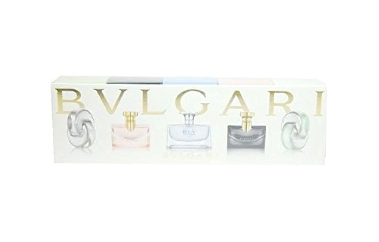 王位ティッシュ救援ブルガリ ウィメンズ ミニチュア コレクション 5ml×5 (並行輸入) ミニチュア香水 セット