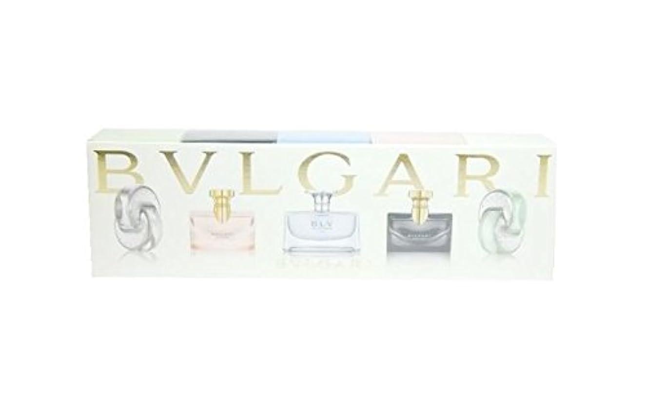 凝縮するほこりっぽいずるいブルガリ ウィメンズ ミニチュア コレクション 5ml×5 (並行輸入) ミニチュア香水 セット