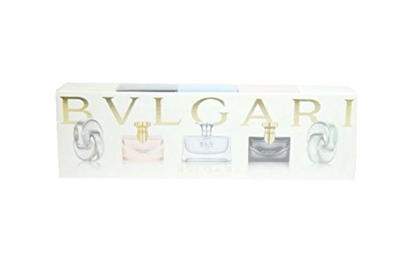 製作鋭く反乱ブルガリ ウィメンズ ミニチュア コレクション 5ml×5 (並行輸入) ミニチュア香水 セット