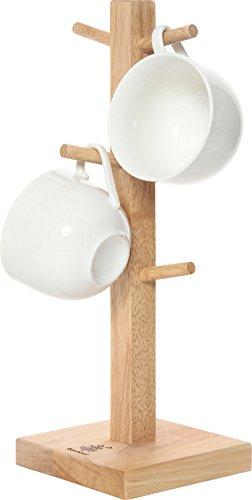 RoomClip商品情報 - 不二貿易 木製 マグカップツリー ボヌール キッチン雑貨シリーズ ナチュラル 94377