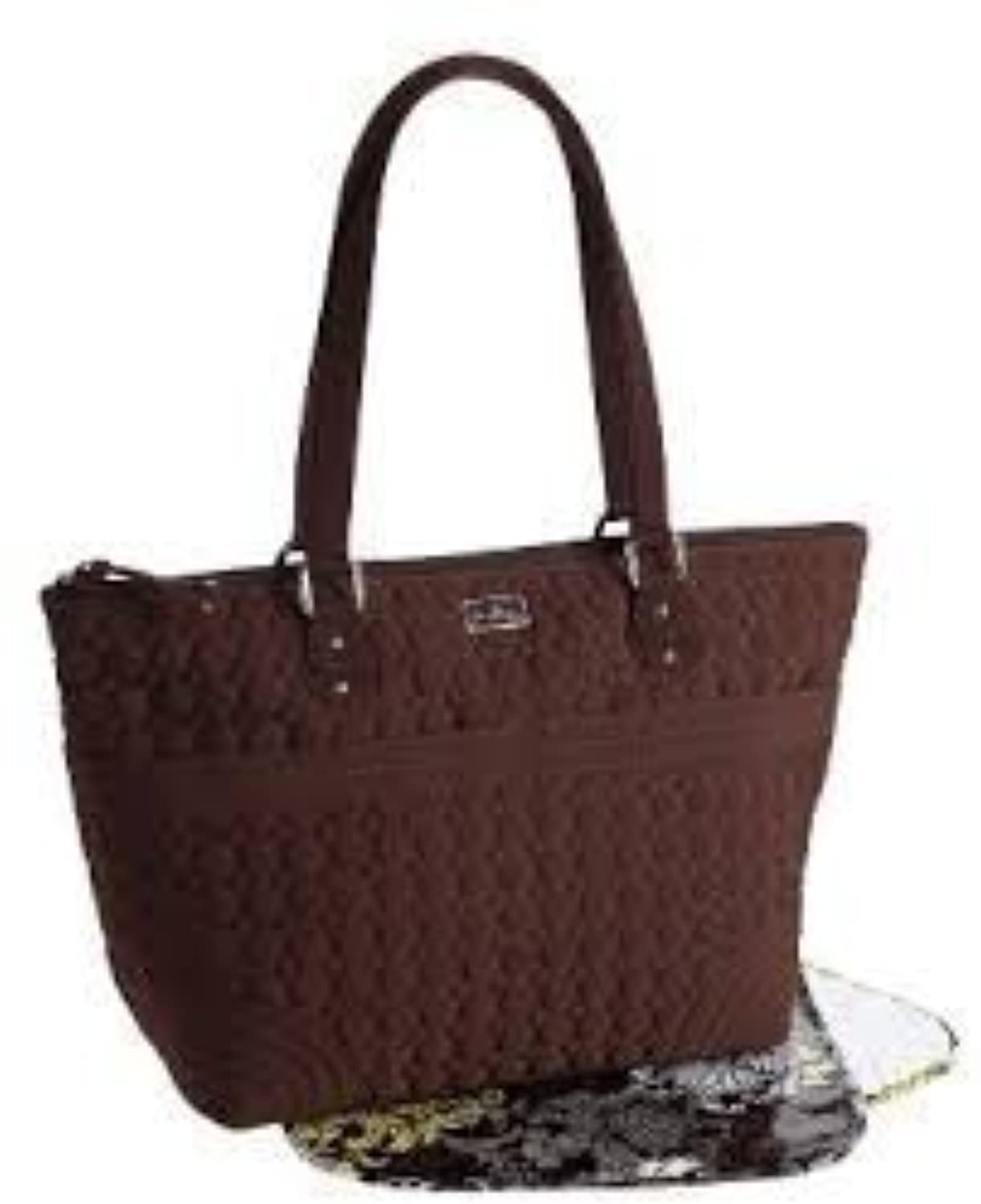 Vera Bradley Microfiber Collection - Baby Bag in Espresso Brown by Vera Bradley [並行輸入品]