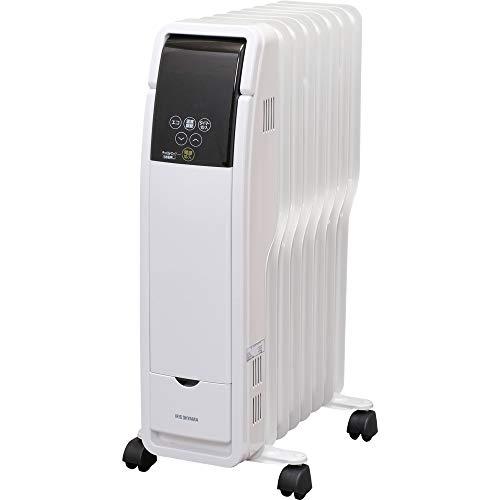 アイリスオーヤマ オイルヒーター タイマー付 ホワイト POH-S1208M-W