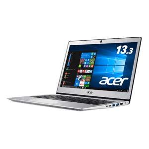 Acer(エイサー) 13.3型ノートパソコン Swift 1 ピュアシルバー[Celeron/メモリ 4GB / SSD 128GB]WPS Office standard搭載 SF113-31-H14Q