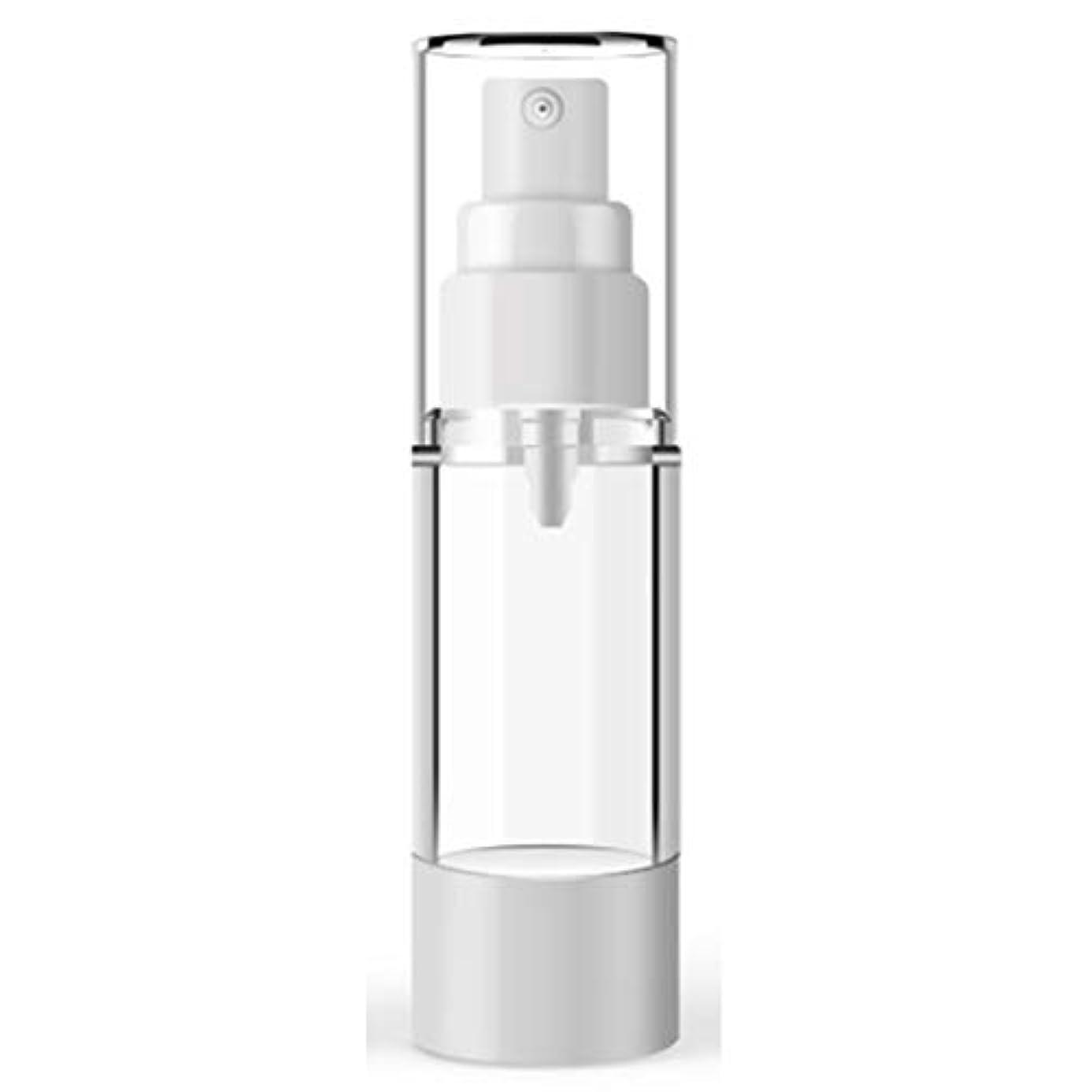 ドラフト回転するロープACHICOO 小分けボトル 15ミリリットル 100ミリリットル プラスチック 化粧品ボトル 詰め替えボトル エマルジョンスプレー 透明 真空容器 100ml flat mouth vacuum spray bottle