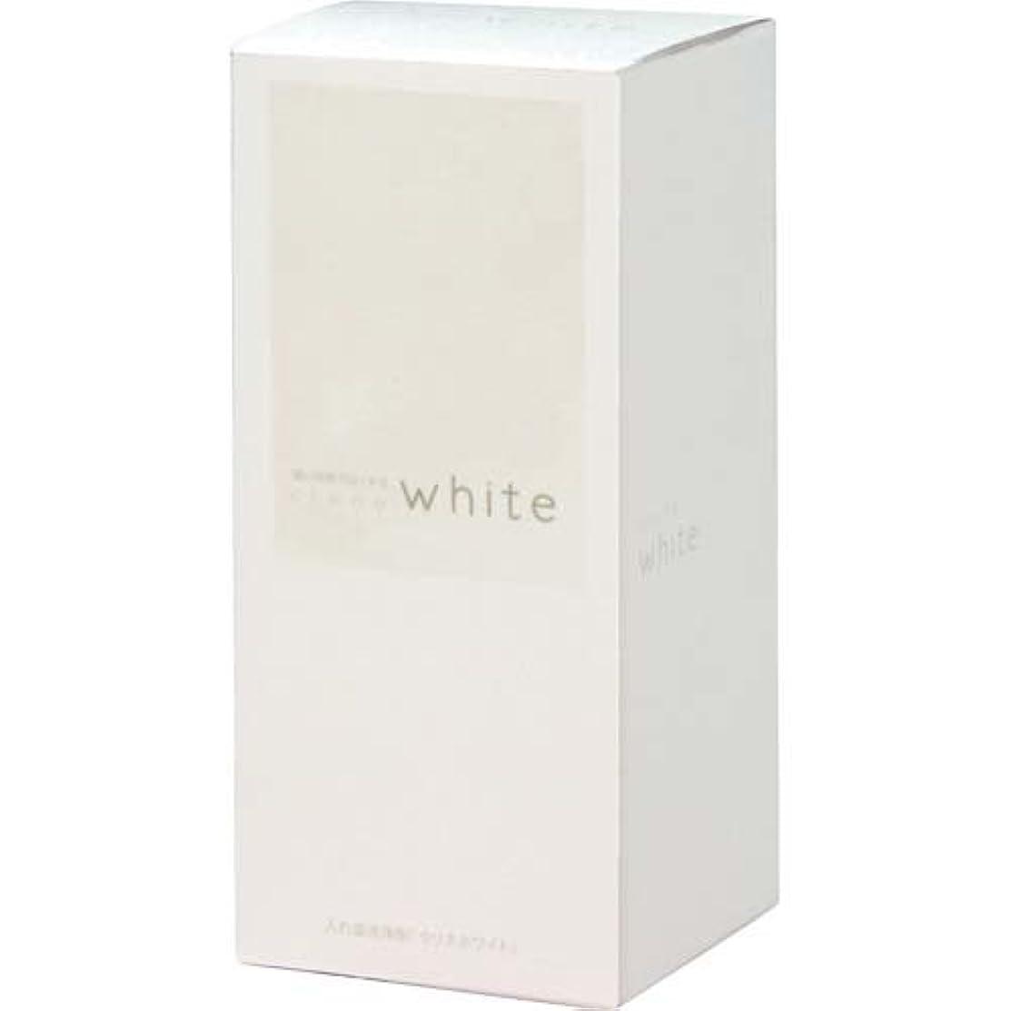 スロット反対に中傷短い時間で白くする 強力入れ歯洗浄剤 クリネホワイト