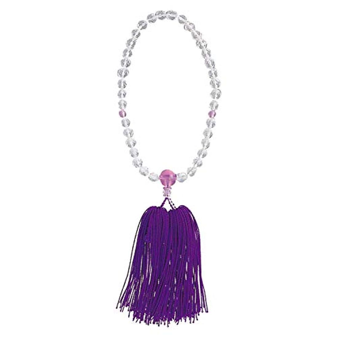 打ち上げる潤滑するモチーフ念珠婦人用 カットガラス