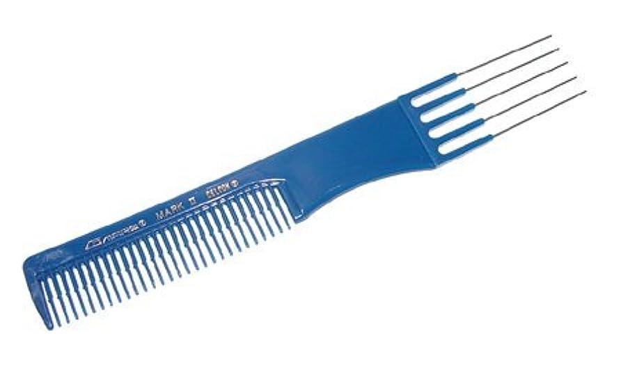 気性メンタル良心的Comare Mark II Stainless Steel Lift Comb [並行輸入品]
