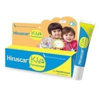 Hiruscar Kids Gentle Oatmeal Skin Formulation Gel 10 g. With 1 pc Premium Souvenir Keychain Thai