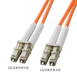 サンワサプライ HKB-LCLC6-40L 光ファイバケーブル(LC・LCコネクタ、40m)