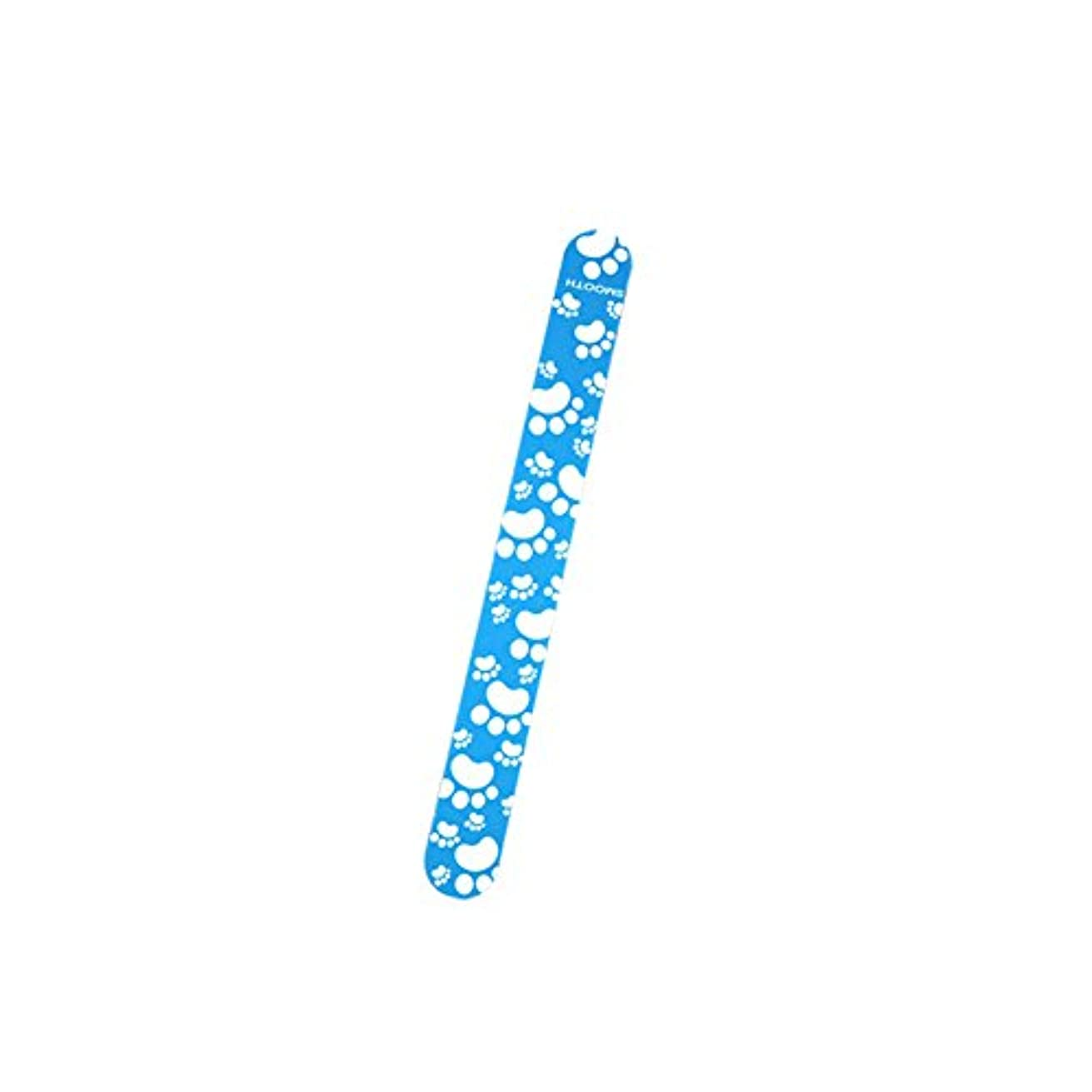 拡張息切れ洋服Poonikuuネイルやすり 爪ヤスリ爪磨き ケアツール ネイルツール 小型便利 ネイル用道具 1本セット
