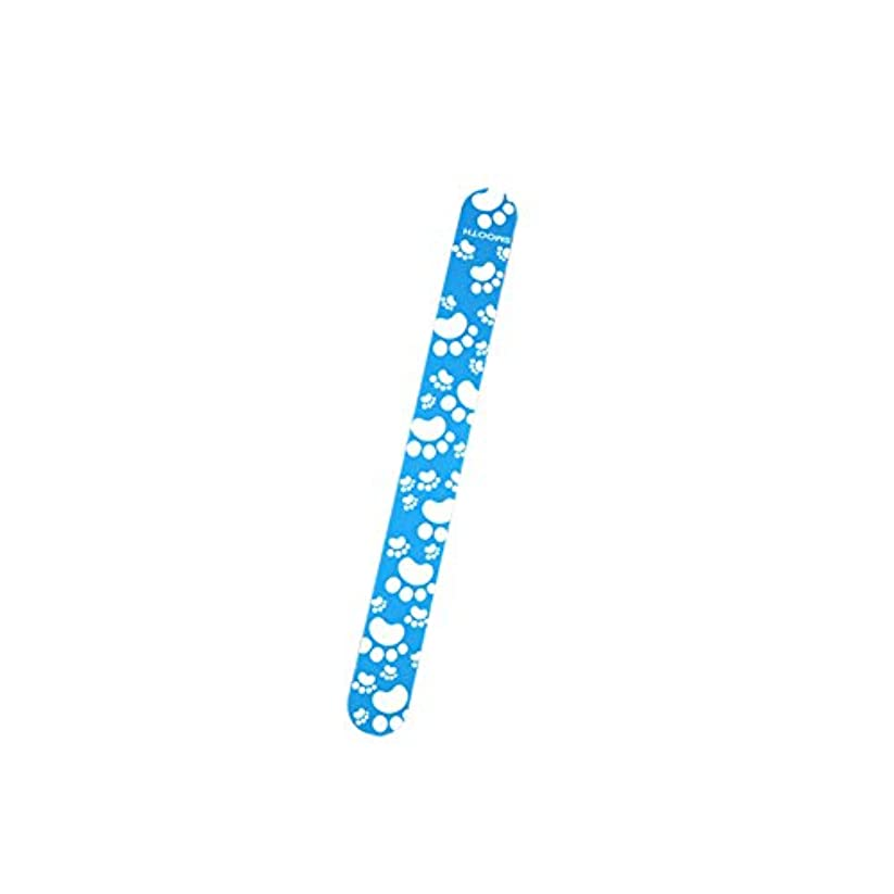 Poonikuuネイルやすり 爪ヤスリ爪磨き ケアツール ネイルツール 小型便利 ネイル用道具 1本セット