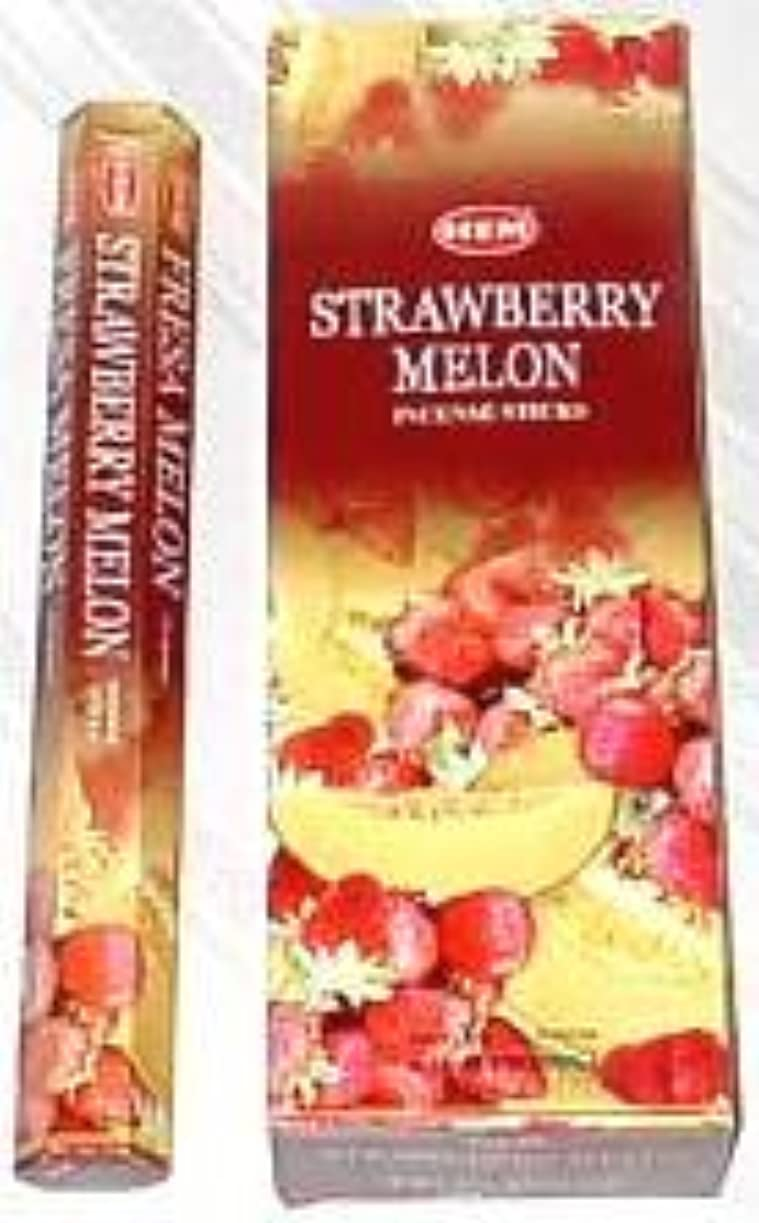 こどもの宮殿ドル社説Strawberryメロン – ボックスof 6つ20スティックチューブ、120 Sticks合計 – 裾Incense