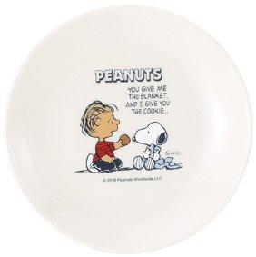 スヌーピーSNOOPY/ピーナッツ プレート皿2枚組セット / キッズ、子供用としても! (C柄) [並行輸入品]