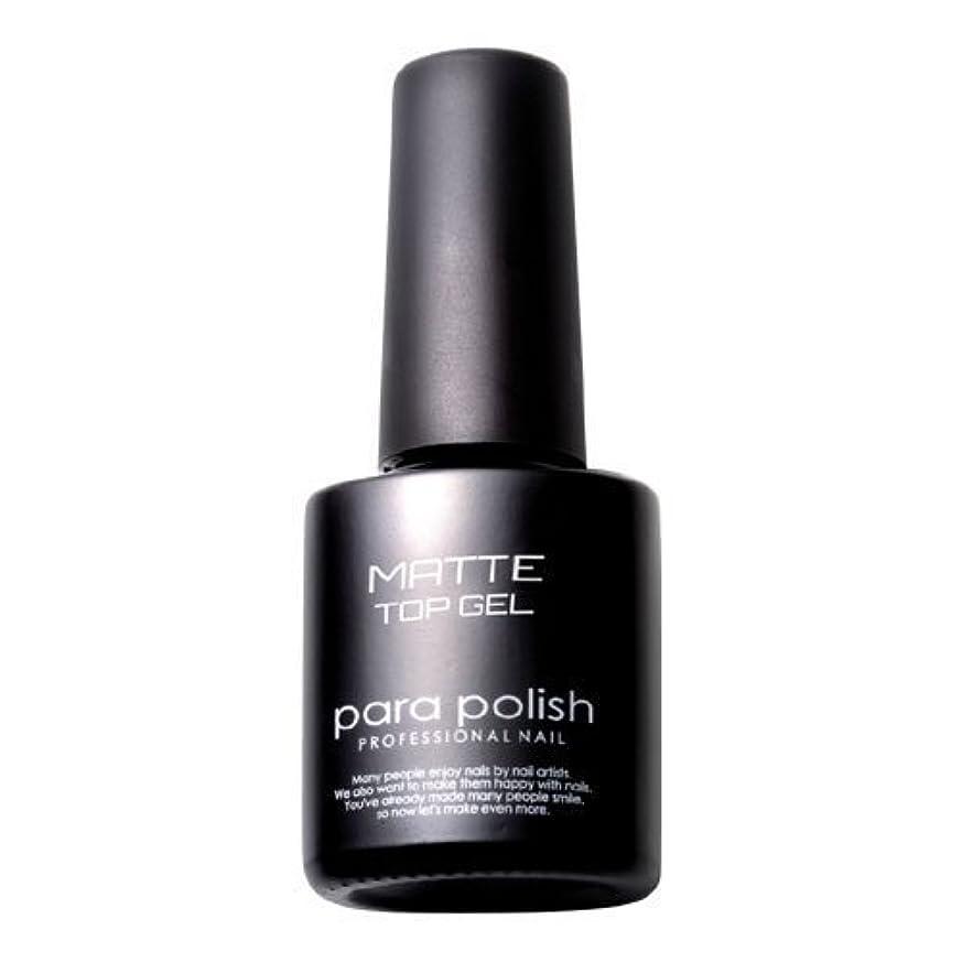現象クランシー安らぎパラジェル para polish(パラポリッシュ) マットトップジェル 7ml