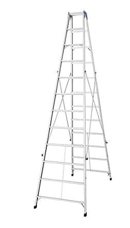 ハセガワ アルミ製 長尺専用脚立 3.49m TOP2.0-36