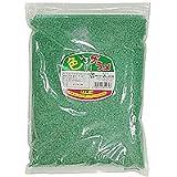 【わた菓子用 ザラメ】 色いろザラメ 緑(1kg)  / お楽しみグッズ(紙風船)付きセット