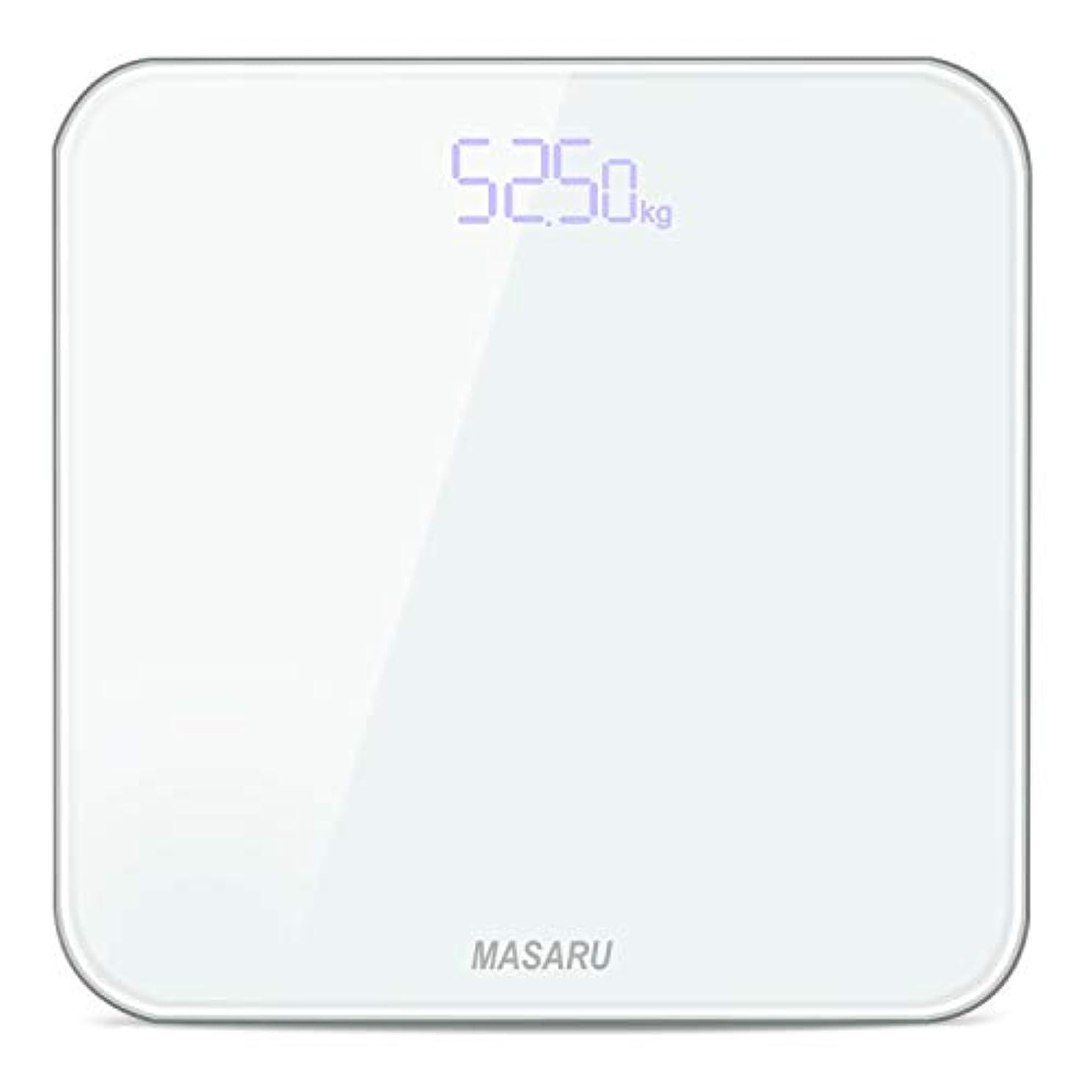 天才カッタースパークMASARU ヘルスメーター 体重計 デジタル 乗るだけ 電源自動ON/OFF バックライト付 180kgまで対応 高精度 ボディスケール(電池付属)