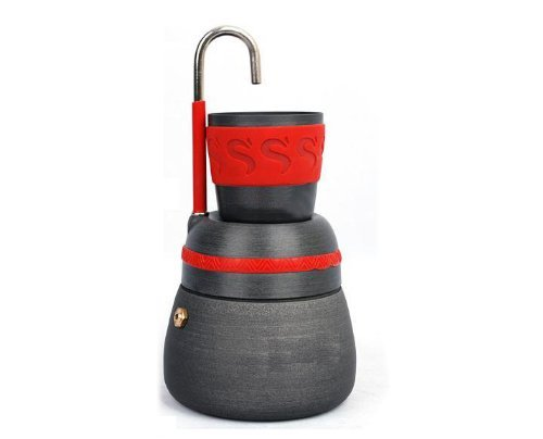 Alocs 屋外コーヒーメーカー屋外コーヒーストーブポット3...