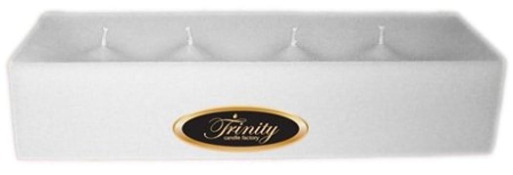 瞳消去フェリーTrinity Candle工場 – Fresh Linen – Pillar Candle – 12 x 4 x 2 – ログ
