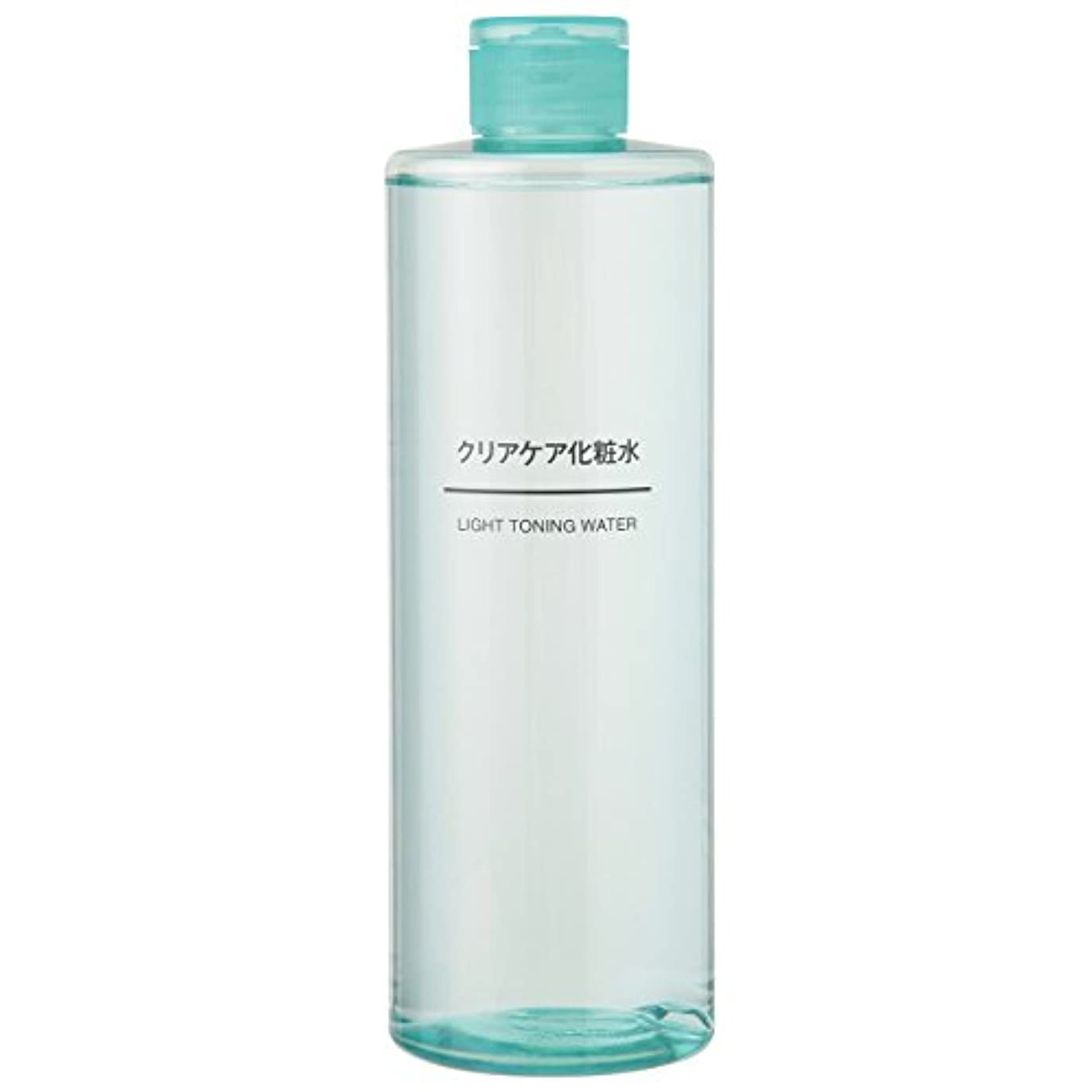 閉じる平和な不利無印良品 クリアケア化粧水(大容量) 400ml