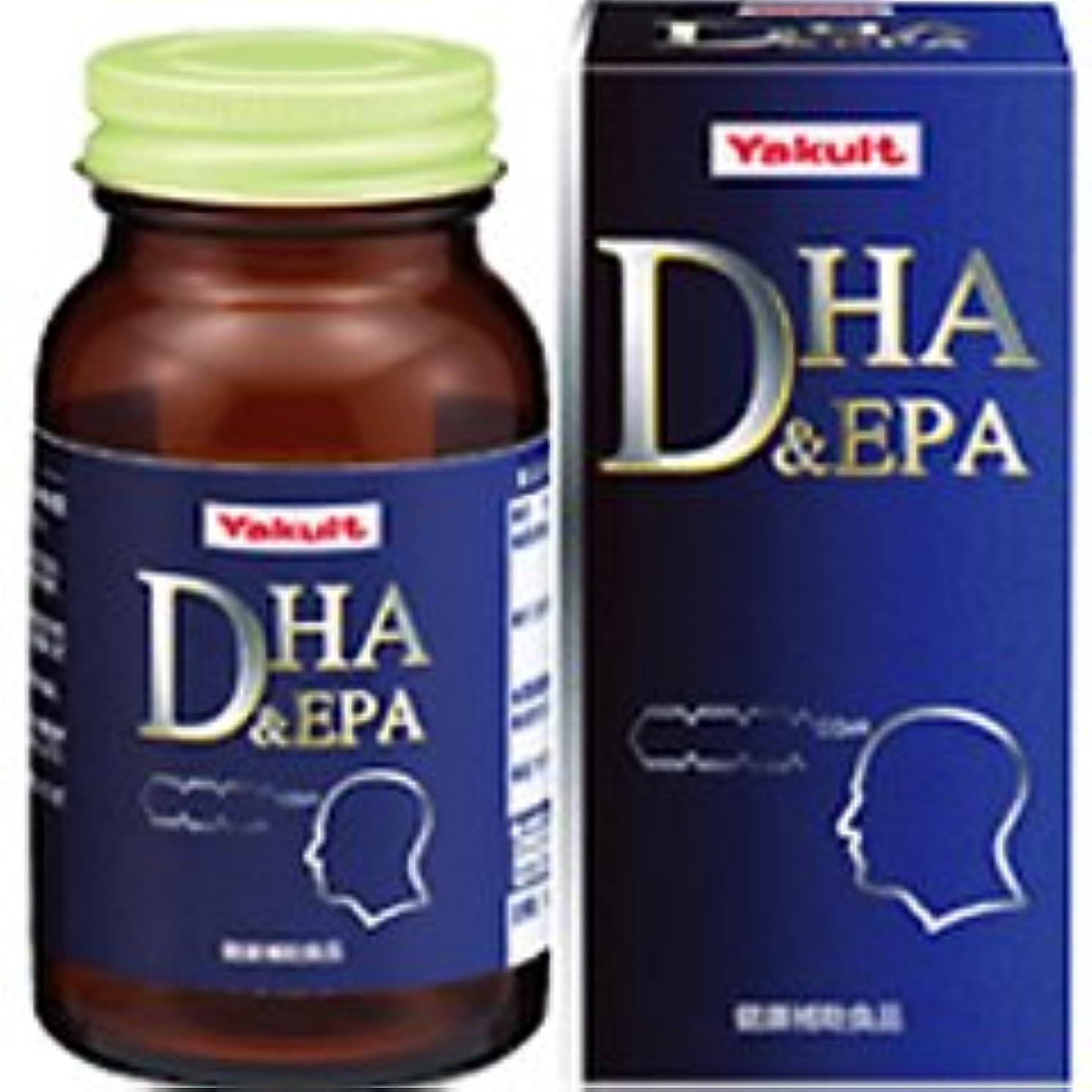 モーター余分な看板【ヤクルトヘルスフーズ】DHA&EPA 240粒