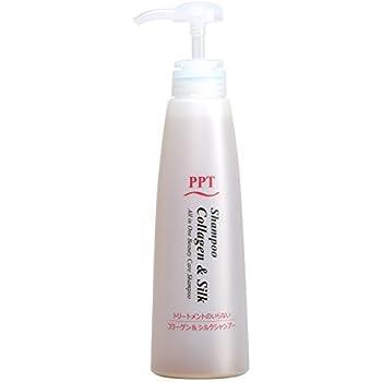 PPTコラーゲン&シルクシャンプー400ml乾燥肌~普通肌用(しっとり)